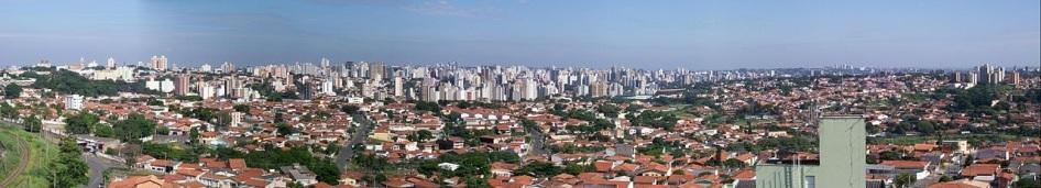 14 de Julho - Panorama da Região Central — Campinas (SP) — 243 Anos em 2017.
