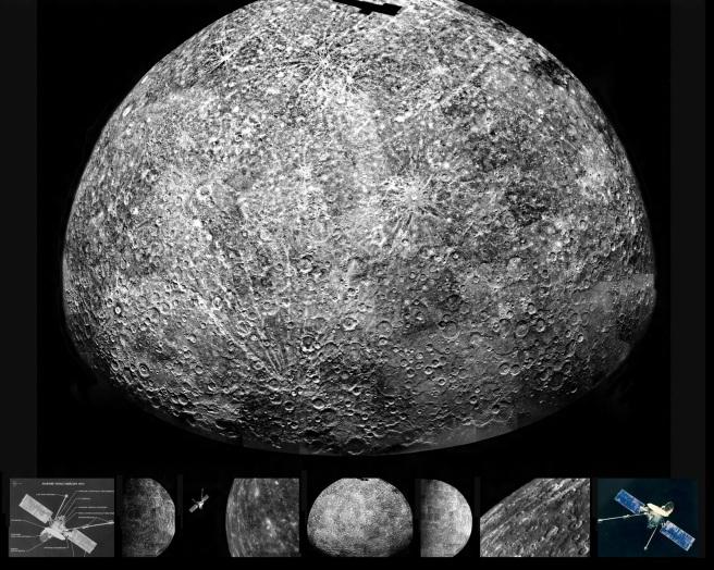 21 de Setembro – 1974 – A Sonda Mariner 10 passa pela segunda vez perto do planeta Mercúrio.