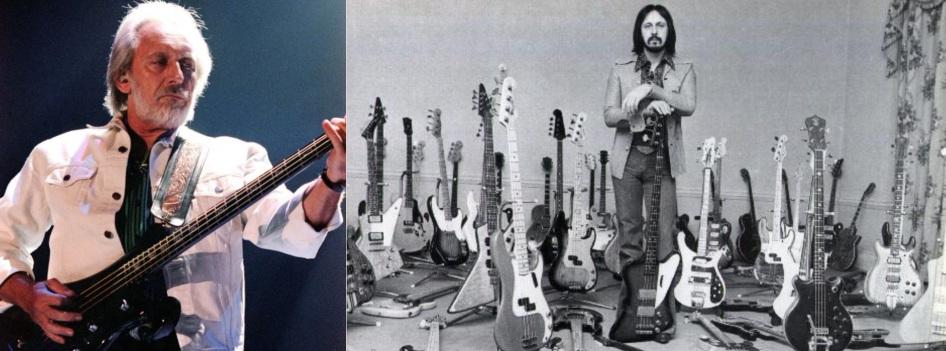 9 de Outubro - 1944 – John Entwistle - baixista britânico da banda The Who (m. 2002).