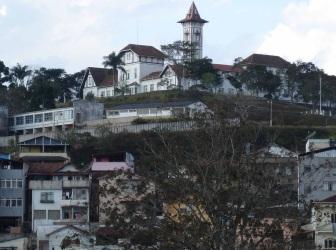 14 de Agosto – Vista parcial da cidade — Barbacena (MG) — 226 Anos em 2017.