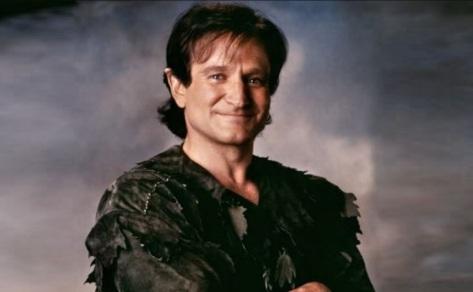 21 de Julho - Robin Williams - 1951 – 66 Anos em 2017 - Acontecimentos do Dia - Foto 10 - Como 'Peter Pan'.