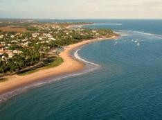 28 de Setembro – Vista aérea da Praia de Guarajuba — Camaçari (BA) — 259 Anos em 2017.