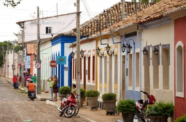 11 de Agosto – Rua da cidade — Pedro II (PI) — 163 Anos em 2017.