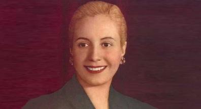 7 de Maio - Eva Perón.
