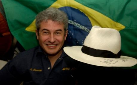 28 de Março - 2006 — Marcos Pontes é o primeiro astronauta brasileiro a viajar para o espaço.