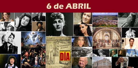 6 de Abril - Poster do Dia