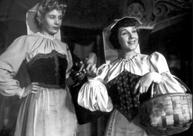 7 de Maio - Evita e Libertad Lamarque.