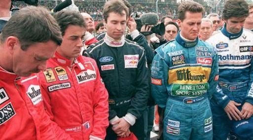 1 de Maio - Pilotos em luto (San Marino 1994)