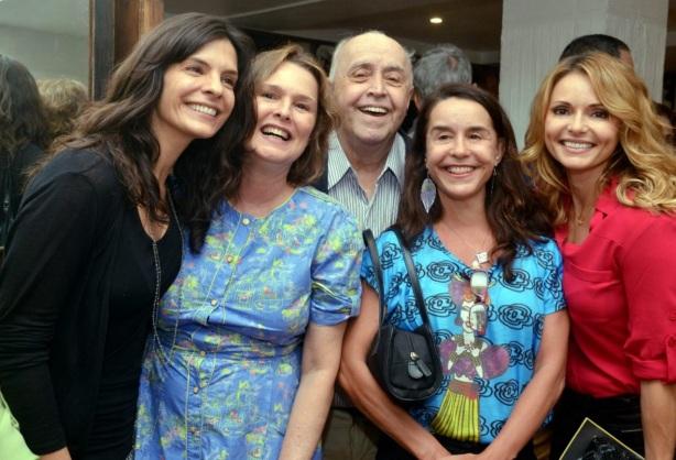 20 de Maio - Helena Ranaldi, Louise Cardoso, Mauro Mendonça, Lucélia Santos e Rita Guedes.