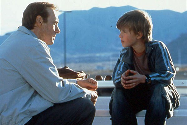 Kevin Spacey e Haley Joel Osment