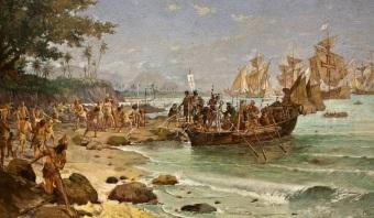 22 de Abril - 1500 – O navegador português Pedro Álvares Cabral torna-se oficialmente o primeiro