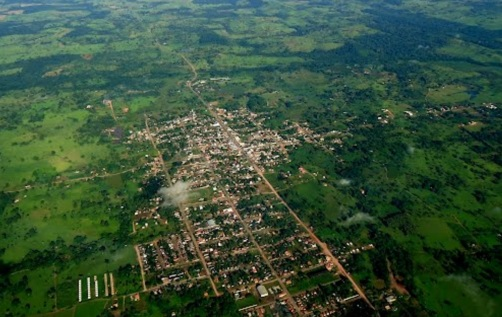 11 de Maio - Santa Luzia D'Oeste (RO) – Foto aérea da cidade.