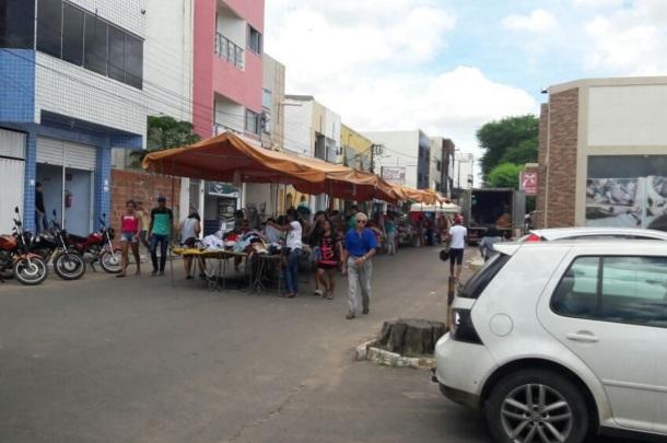 11 de Setembro – Feira livre da cidade — Araripina (PE) — 89 Anos em 2017.