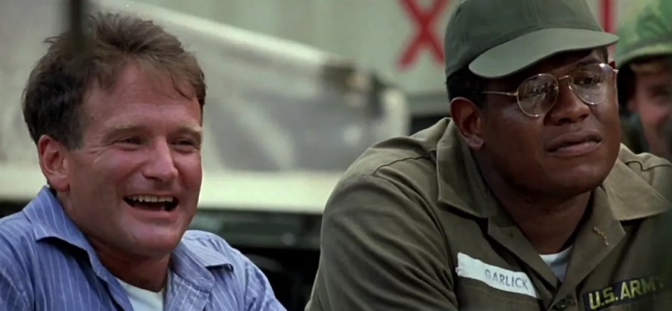 15 de Julho - Forest Whitaker - 1961 – 56 Anos em 2017 - Acontecimentos do Dia - Foto 11 - Com Robin Williams, em 'Good Morning Vietnam'.