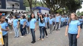 21 de Maio - Desfile em 21 de Maio de 2015, em comemoração aos 163 anos da cidade - Tombos (MG) 165 Anos.