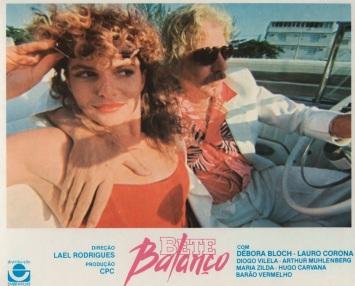 29 de Maio - Debora Bloch em Bete Balanço, com Hugo Carvana - Cartaz de promoção do filme.