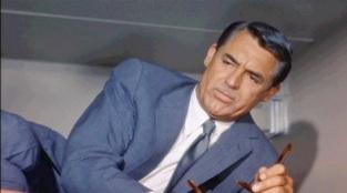 13 de Agosto – Alfred Hitchcock - 1899 – 118 Anos em 2017 - Acontecimentos do Dia - Foto 19 - Cary Grant, um dos poucos atores favoritos de Hitchcock, com quem fez diversos filmes.