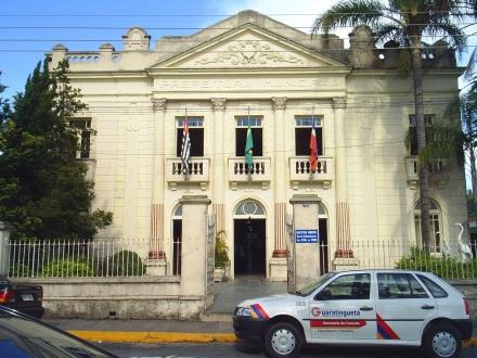 13 de Junho - Antigo Teatro Municipal e sede da Prefeitura até 2013 - Guaratinguetá (SP) - 387 Anos.