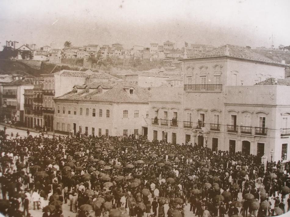 13 de Maio de 1888 - Assinatura da Lei Áurea no Paço Imperial