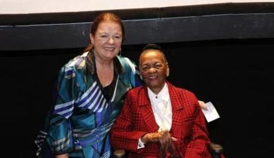 11 de Maio - Bete Mendes e Ruth de Souza.