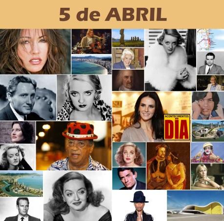 5 de Abril - Poster do Dia