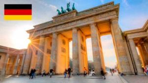 Cidade de Berlim, capital da Alemanha.
