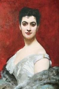 Eufrásia Teixeira Leite, em 1880, aos 30 anos