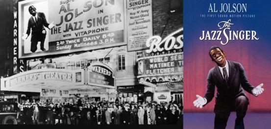 6 de Outubro - 1927 – O Cantor de Jazz, primeiro filme falado da história, tem pré-estréia em Nova York.