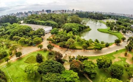 21 de Agosto de 1954 — Inauguração do Parque do Ibirapuera.
