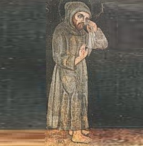 5 de Julho – Este retrato, de autor anônimo, é considerado, uma cópia do século XIV do único retrato que teria sido feito ainda em vida de Francisco de Assis.