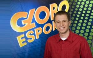 22 de Maio - 1980 - Tiago Leifert, jornalista brasileiro, no Globo Esporte.