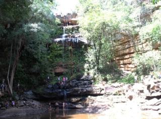 11 de Agosto – Cachoeira do Salto Liso - Rapel — 163 Anos em 2017.
