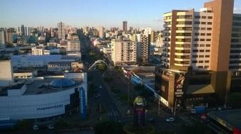 25 de Agosto — Prédios na região central da cidade — Chapecó (SC) — 100 Anos em 2017.