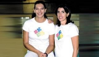 14 de Agosto – Ana Moser - 1968 – 49 Anos em 2017 - Acontecimentos do Dia - Foto 12 - Ana Moser e Magic Paula.