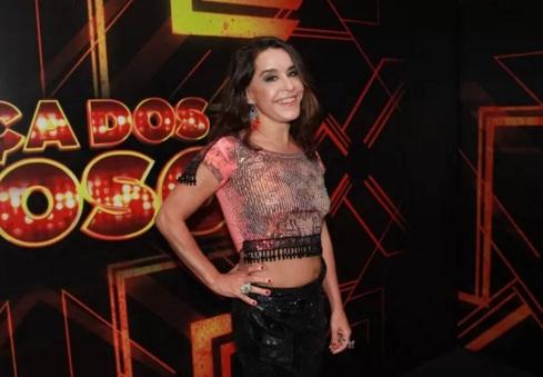 20 de Maio - Lucélia Santos no programa Dança dos Famosos.