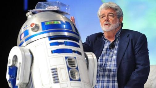 14 de Maio - 1944 – George Lucas, cineasta estadunidense, robô, Star Wars.