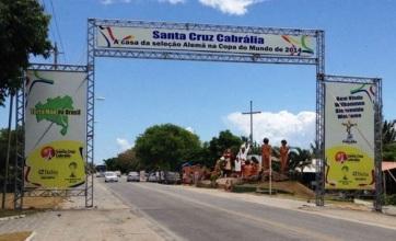 23 de Julho - Pórtico - Entrada da cidade — Santa Cruz Cabrália (BA) — 184 Anos em 2017.