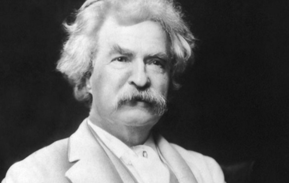 21 de Abril - 1910 — Mark Twain, escritor e humorista norte-americano (n. 1835).