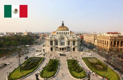 Cidade do México, capital do México.
