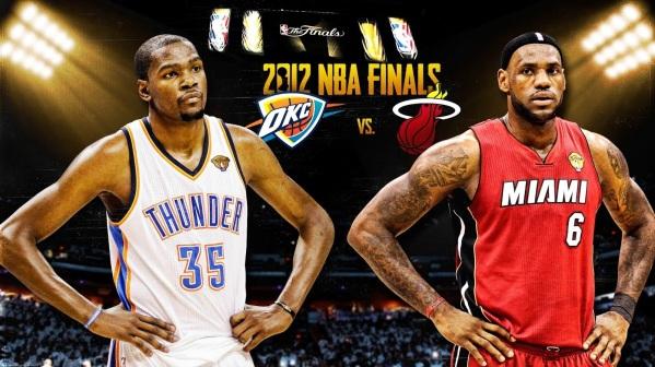 29 de Setembro – Kevin Durant - 1988 – 29 Anos em 2017 - Acontecimentos do Dia - Foto 28 - Oklahoma City Thunder vs Miami Heat, 2011-2012.
