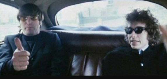 24 de Maio - Bob Dylan e John Lennon.