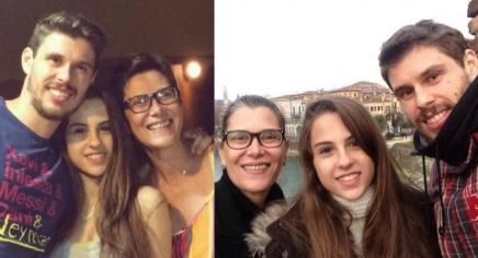27 de Setembro – Vera Mossa - 1964 – 53 Anos em 2017 - Acontecimentos do Dia - Foto 12 - Vera com os filhos Bruno e Luisa.