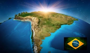 7 de Setembro – Brasil - Planeta - Bandeira.
