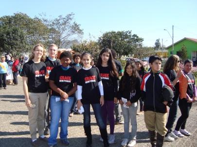 12 de Maio - Paraíso do Sul - RS - Projovem Adolescente.