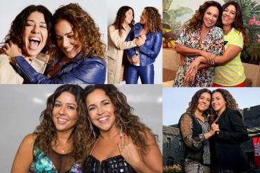 28 de Julho - Daniela Mercury - 1965 – 52 Anos em 2017 - Acontecimentos do Dia - Foto 6 - Com a esposa, Malu.