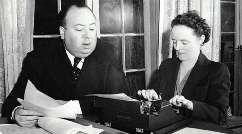 13 de Agosto – Alfred Hitchcock - 1899 – 118 Anos em 2017 - Acontecimentos do Dia - Foto 24 - Hitchcock, com sua esposa, Alma Reville.