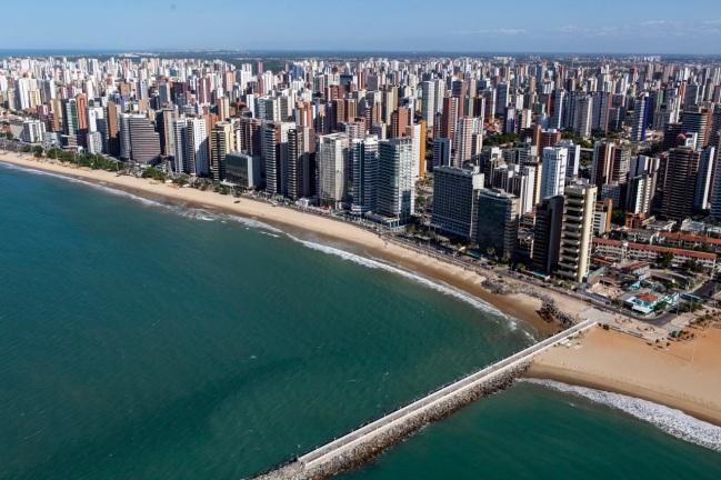 13 de Abril - Fortaleza possui áreas de densa verticalização.