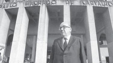 7 de Março - Paulo Machado de Carvalho, empresário brasileiro