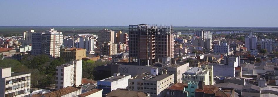 7 de Julho – Panorâmica da cidade — Pelotas (RS) — 205 Anos em 2017.
