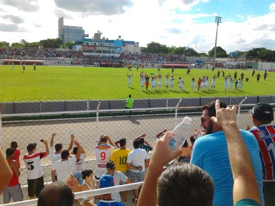 9 de Maio - Estádio Tomatão — Teixeira de Freitas (BA).
